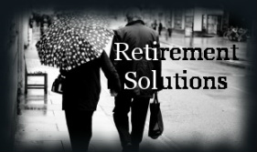 Black and White Walking Retirement Solutions